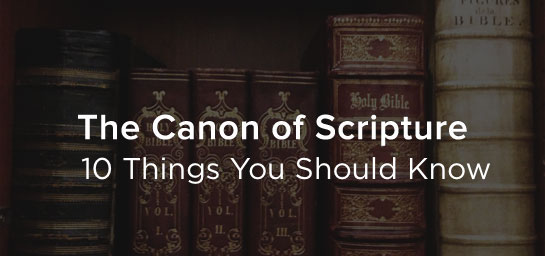 How do we know which books of the Bible are from God, and which are not?